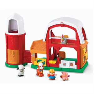 Imaginea Ferma animalelor Fisher Price Little People (limba maghiara)