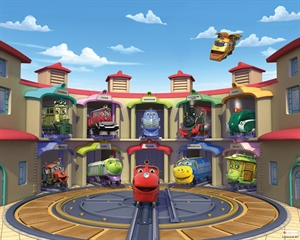 Imaginea Tapet Walltastic - Chuggington