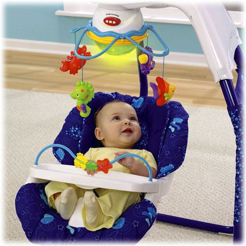 fisher price ocean wonders cradle swing 1