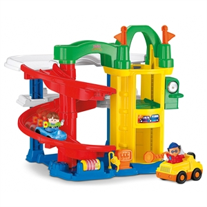 Imaginea Garaj cu rampa Fisher Price Little People