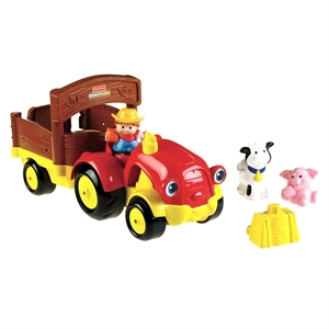 Imaginea Tractor Fisher Price Little People
