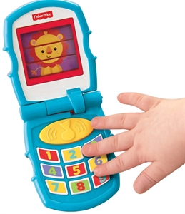 Imaginea Telefon muzical Peak a Boo Fisher Price