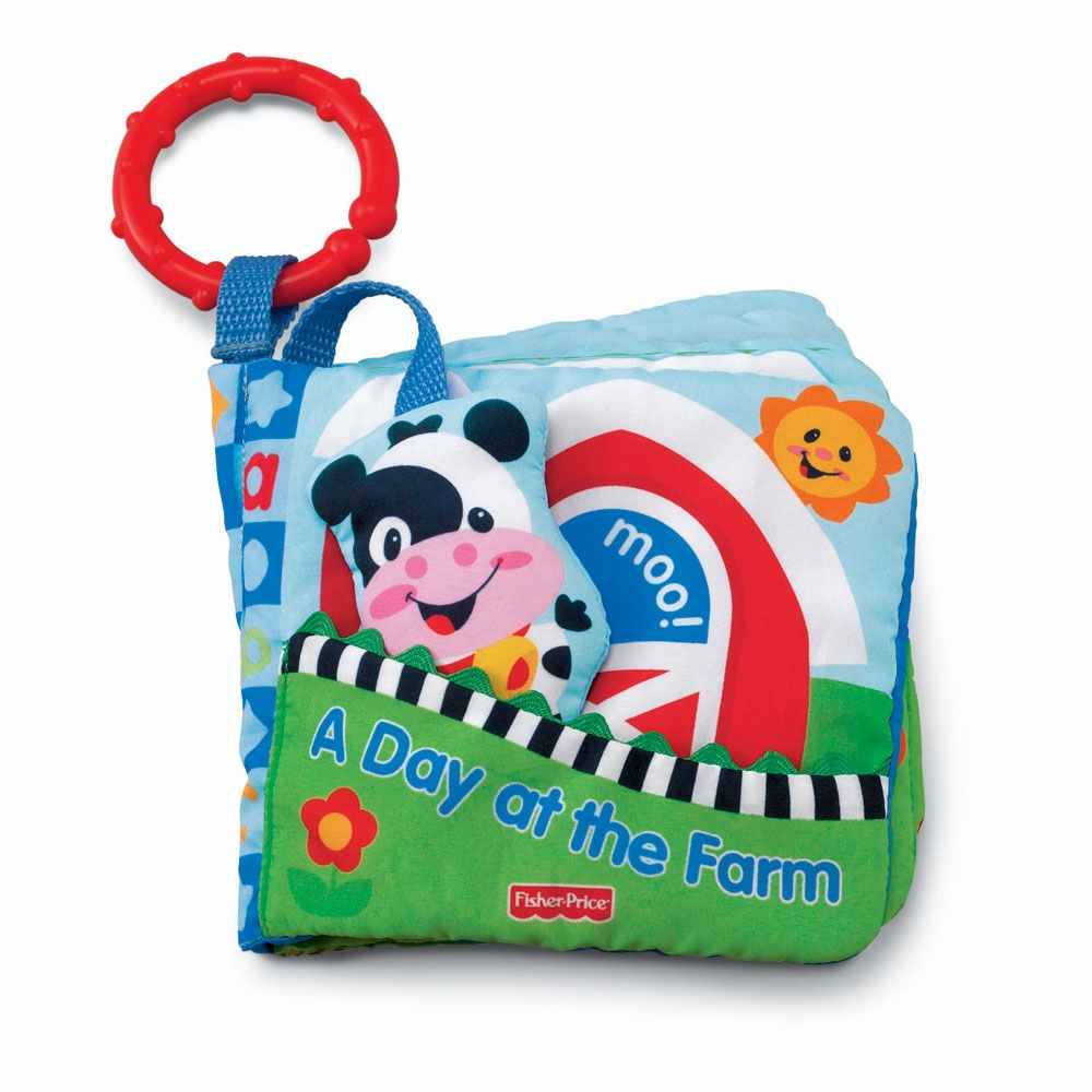Carte cu animale Fisher Price