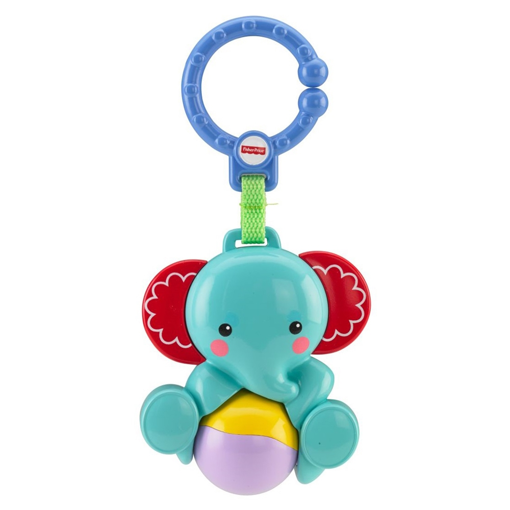 Jucarie de agatat elefant Fisher Price