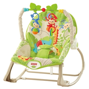 Imaginea Balansoar 2 in 1 Infant to Toddler Rainforest Friends Fisher Price