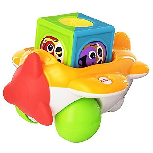 Avion cu roti Fisher Price