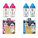 Imaginea Biberoane decorate 340 ml x 2 buc Tommee Tippee Closer to Nature